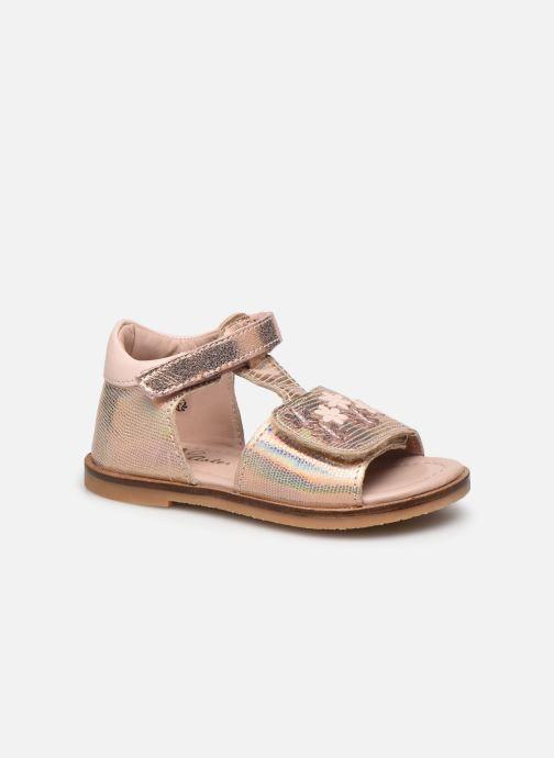 Sandales et nu-pieds Aster Norald Rose vue détail/paire