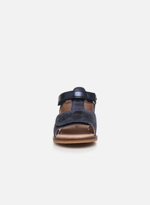Sandalen Aster Norald blau schuhe getragen