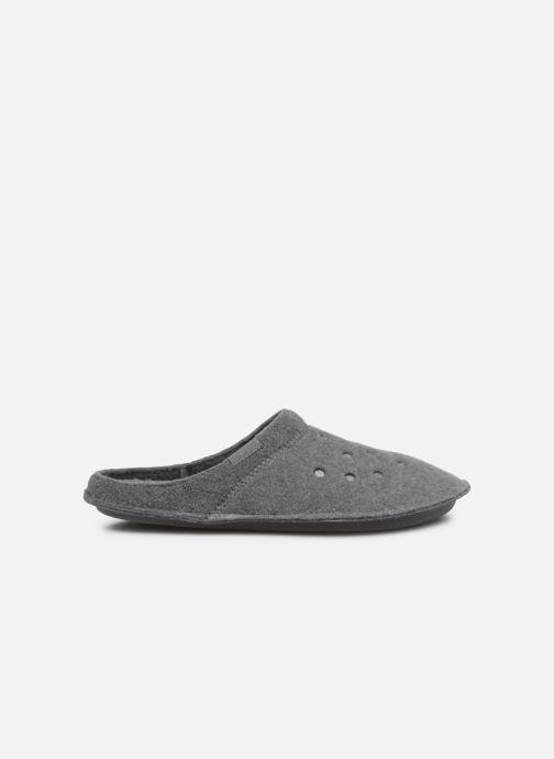 Zuecos Crocs Classic Slipper W Gris vistra trasera