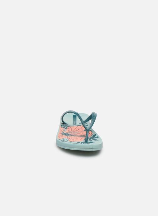 Tongs Ipanema Ipanema Anat Temas IX Fem Bleu vue portées chaussures