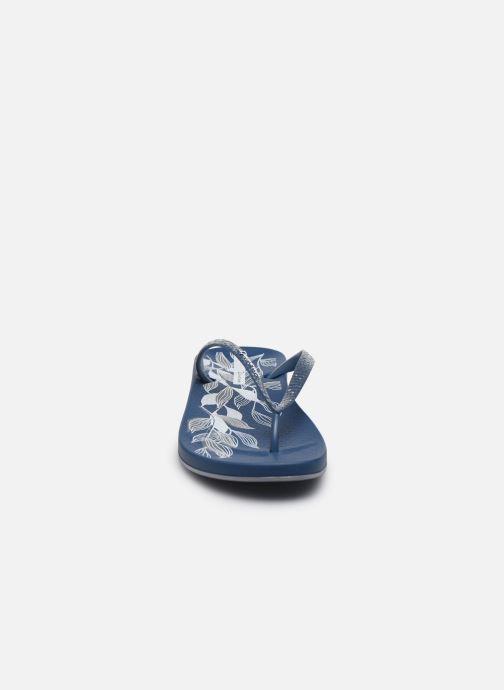 Tongs Ipanema Ipanema Anat Nature IV Fem Bleu vue portées chaussures