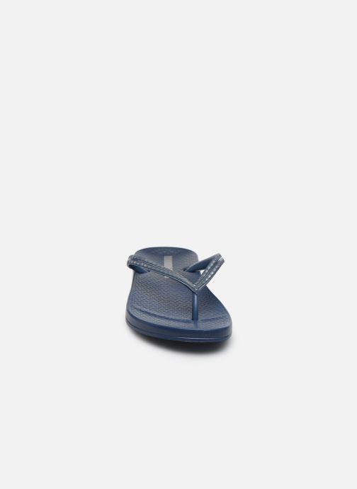 Zehensandalen Ipanema Ipanema Mesh IV Fem blau schuhe getragen