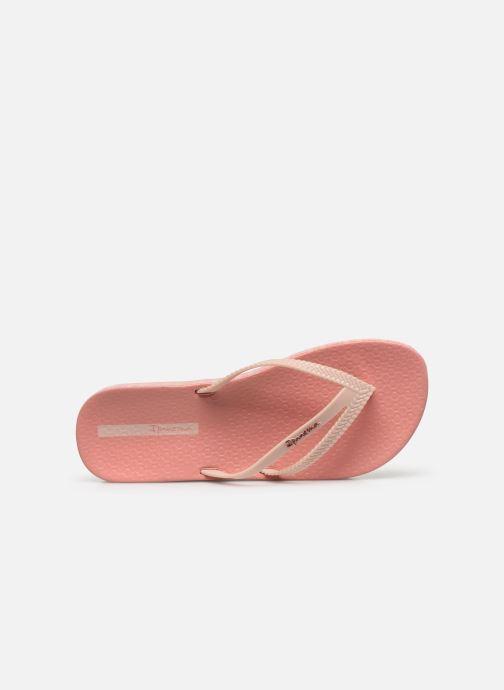 Zehensandalen Ipanema Ipanema Bossa Soft IV Fem rosa ansicht von links