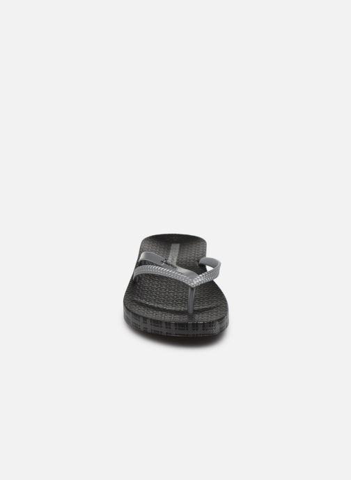Tongs Ipanema Ipanema Bossa Soft IV Fem Noir vue portées chaussures