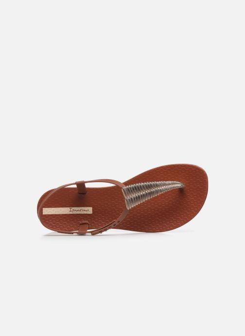 Sandali e scarpe aperte Ipanema Ipanema Class Glam III Fem Marrone immagine sinistra