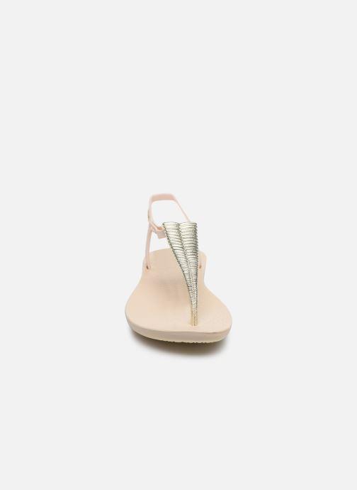 Sandalen Ipanema Ipanema Class Glam III Fem beige schuhe getragen