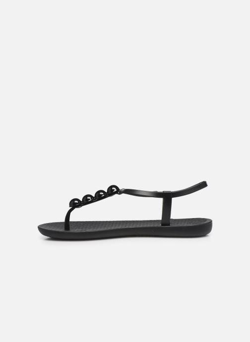 Sandales et nu-pieds Ipanema Ipanema Class Glam II Fem Noir vue face