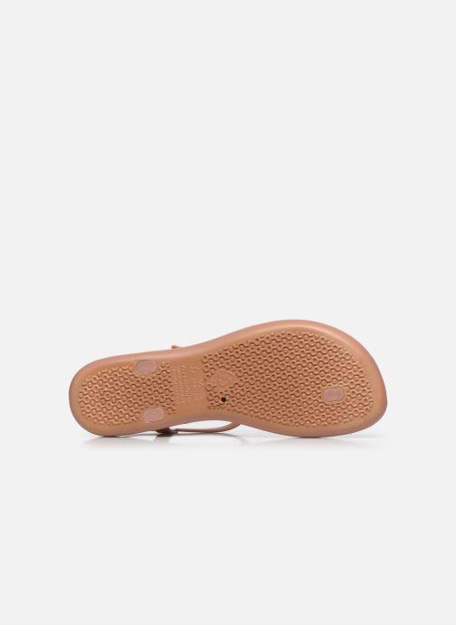 Sandales et nu-pieds Ipanema Ipanema Class Glam II Fem Beige vue haut