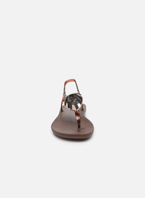 Sandales et nu-pieds Ipanema Ipanema Leaf Sandal Fem Marron vue portées chaussures