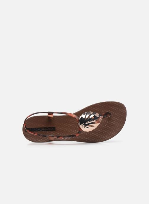 Sandales et nu-pieds Ipanema Ipanema Leaf Sandal Fem Marron vue gauche