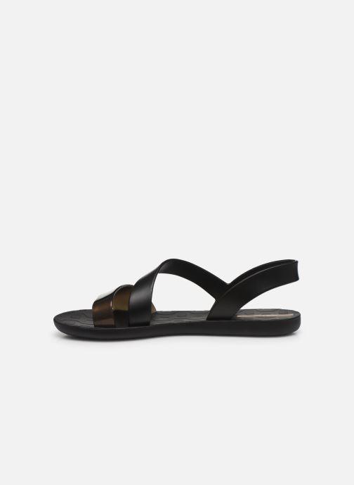 Sandales et nu-pieds Ipanema Ipanema Vibe Sandal Fem Noir vue face