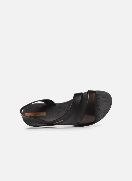 Sandali e scarpe aperte Ipanema Ipanema Vibe Sandal Fem Nero immagine sinistra