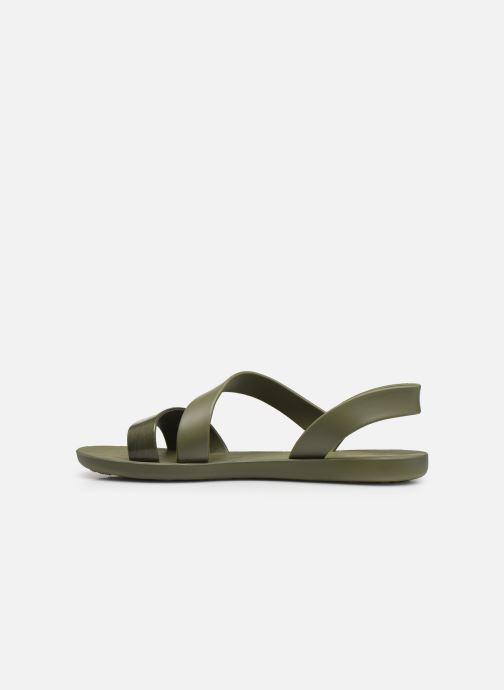 Sandalen Ipanema Ipanema Vibe Sandal Fem grün ansicht von vorne