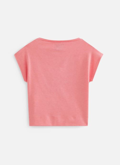 Vêtements Jean Bourget T-Shirt JQ10012 Rose vue bas / vue portée sac