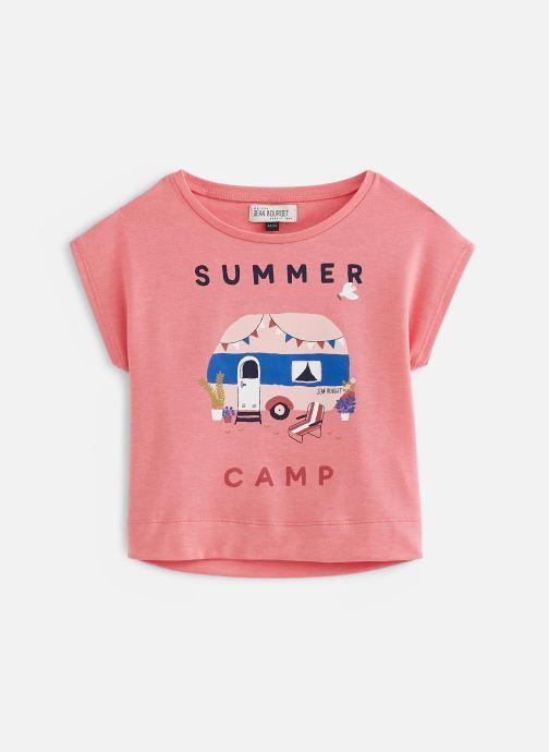 Vêtements Jean Bourget T-Shirt JQ10012 Rose vue détail/paire