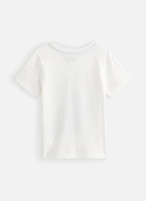 Vêtements Jean Bourget T-Shirt JQ10133 Blanc vue bas / vue portée sac
