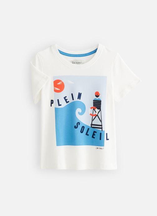 Vêtements Jean Bourget T-Shirt JQ10133 Blanc vue détail/paire
