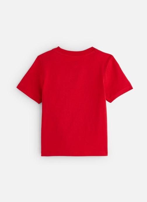 Vêtements Timberland T05J17 Rouge vue bas / vue portée sac