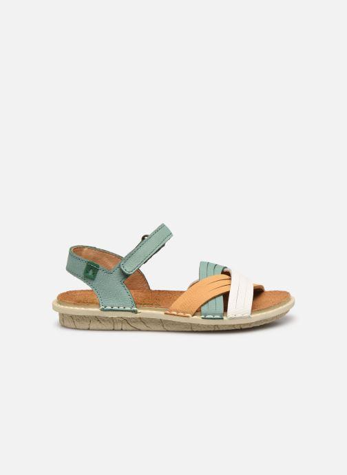 Sandali e scarpe aperte El Naturalista Terra E226 Verde immagine posteriore