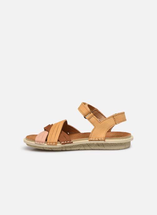 Sandales et nu-pieds El Naturalista Terra E226 Jaune vue face