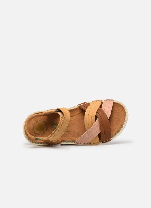Sandales et nu-pieds El Naturalista Terra E226 Jaune vue gauche