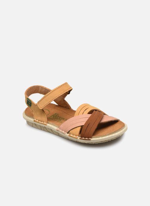 Sandales et nu-pieds El Naturalista Terra E226 Jaune vue détail/paire