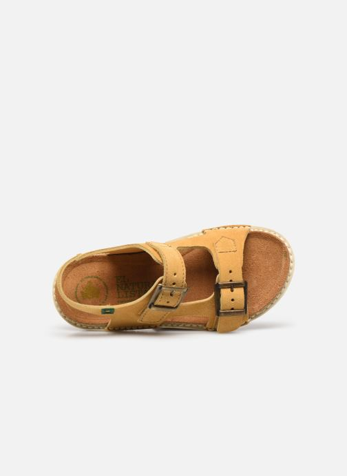 Sandali e scarpe aperte El Naturalista Terra E227 Giallo immagine sinistra