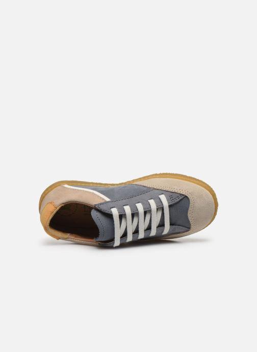 Sneaker El Naturalista Yuyuan blau ansicht von links