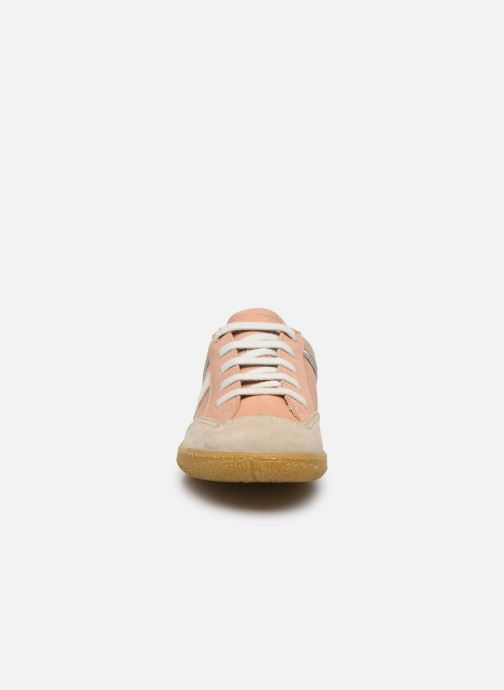 Baskets El Naturalista Yuyuan Rose vue portées chaussures