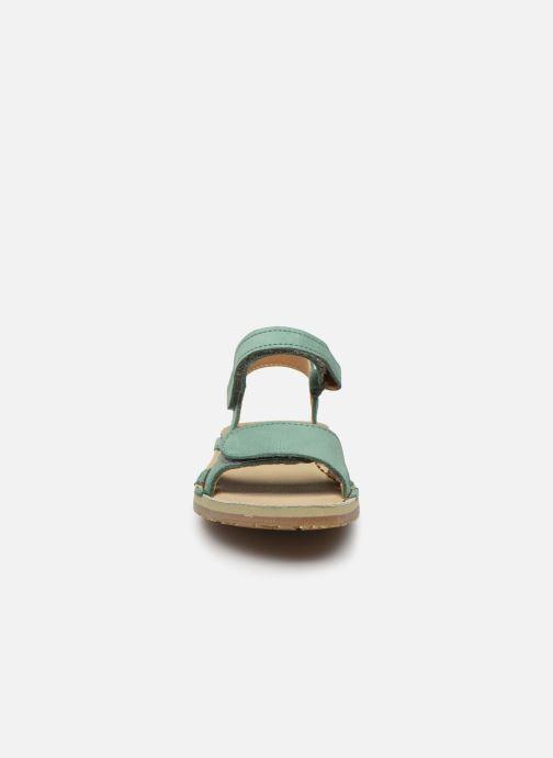 Sandalen El Naturalista Perissa E209 grün schuhe getragen