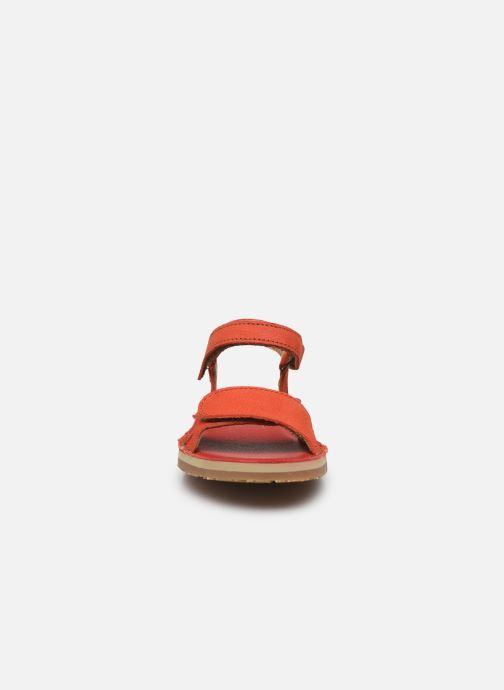 Sandali e scarpe aperte El Naturalista Perissa E209 Arancione modello indossato