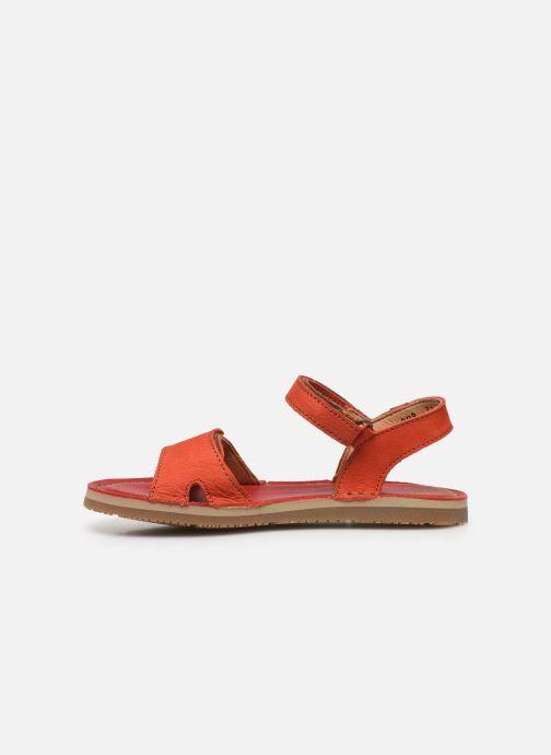 Sandali e scarpe aperte El Naturalista Perissa E209 Arancione immagine frontale