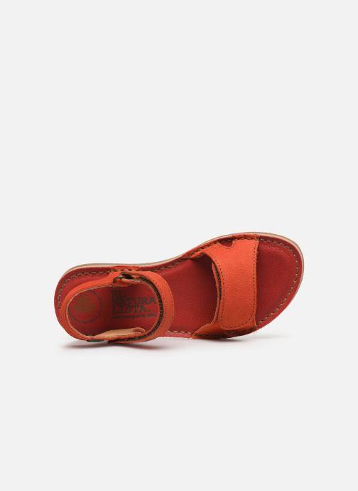 Sandali e scarpe aperte El Naturalista Perissa E209 Arancione immagine sinistra