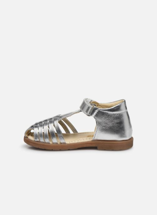 Sandals Naturino Falcotto Flysch Silver front view