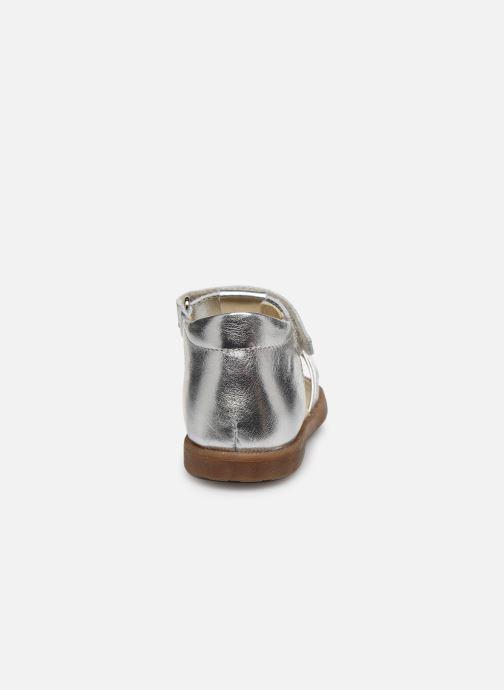 Sandali e scarpe aperte Naturino Falcotto Flysch Argento immagine destra
