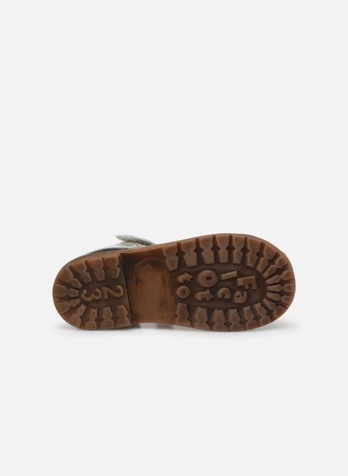 Sandali e scarpe aperte Naturino Falcotto Flysch Argento immagine dall'alto