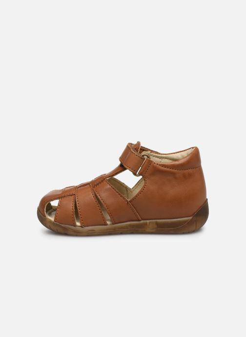 Sandales et nu-pieds Naturino Falcotto Livingston Marron vue face