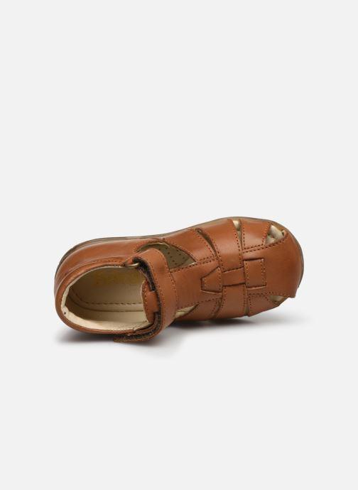 Sandales et nu-pieds Naturino Falcotto Livingston Marron vue gauche