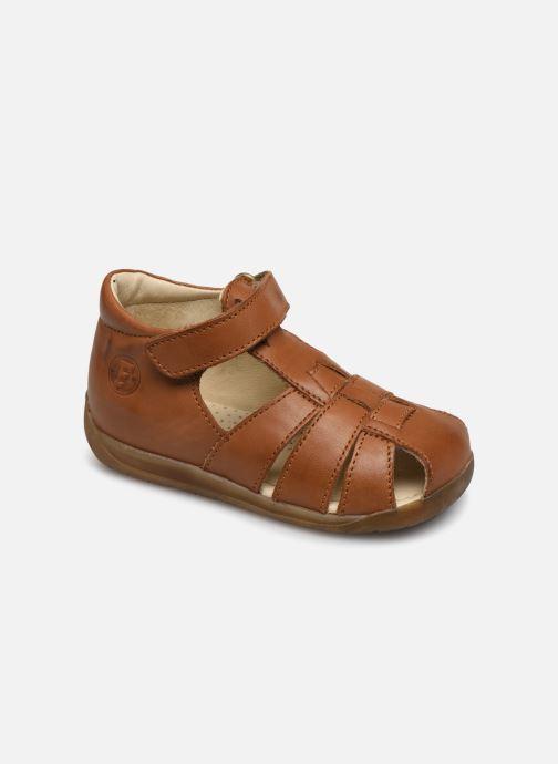 Sandales et nu-pieds Naturino Falcotto Livingston Marron vue détail/paire