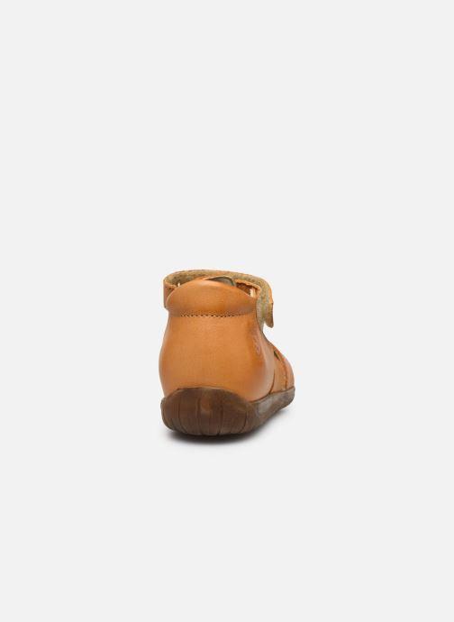Sandales et nu-pieds Naturino Falcotto Livingston Jaune vue droite