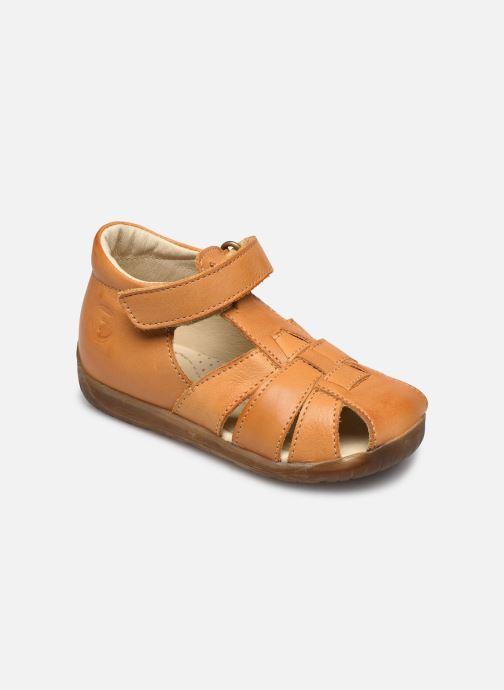 Sandaler Naturino Falcotto Livingston Gul detaljeret billede af skoene