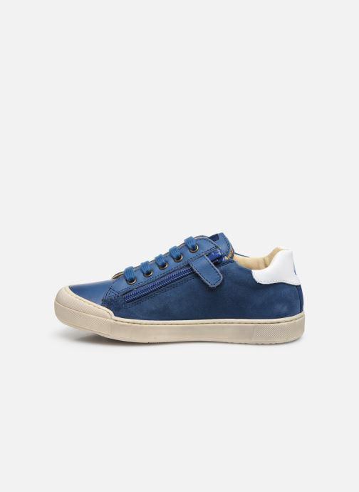Sneaker Naturino Clarendon blau ansicht von vorne
