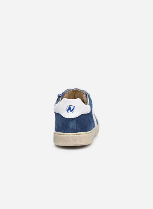 Baskets Naturino Clarendon Bleu vue droite