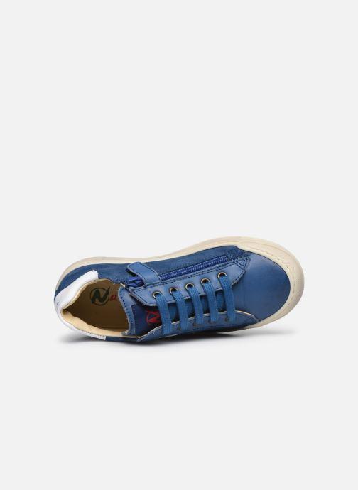 Sneaker Naturino Clarendon blau ansicht von links