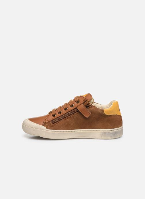 Sneaker Naturino Clarendon braun ansicht von vorne