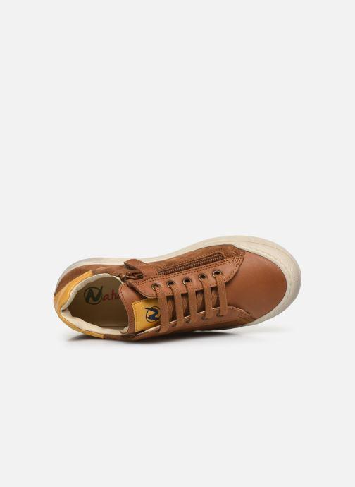 Sneaker Naturino Clarendon braun ansicht von links