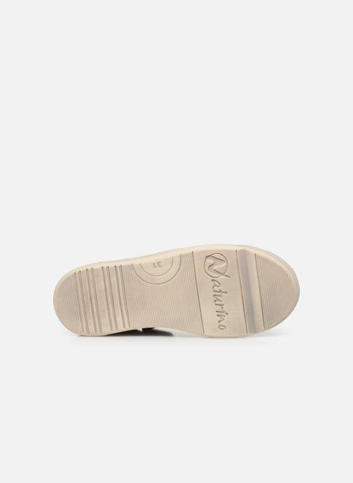 Sneaker Naturino Clarendon braun ansicht von oben