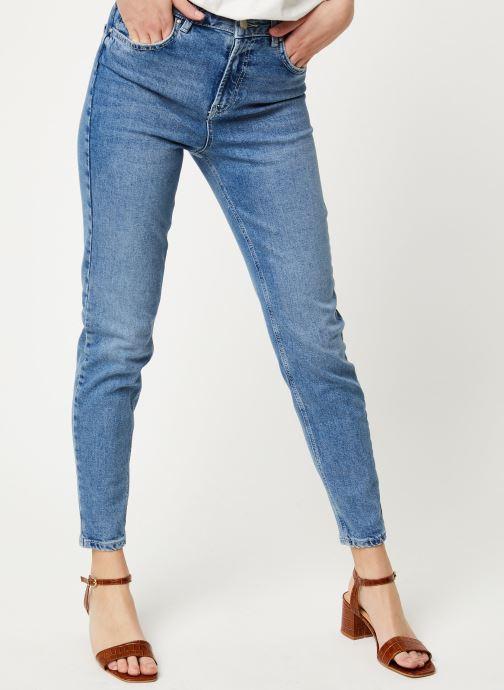 Jeans Pcleah Mom Hw Ank Lb110-Ba/Noos Bc