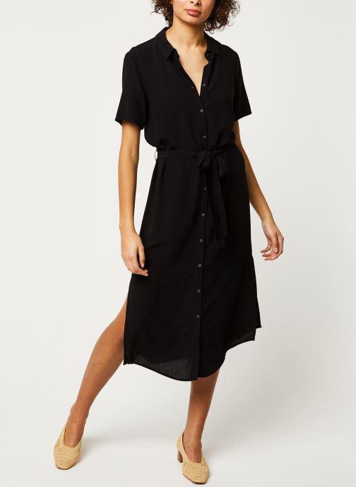 Vêtements Pieces Dresses Pccecilie Ss Long Dress Noos Bc Noir vue bas / vue portée sac