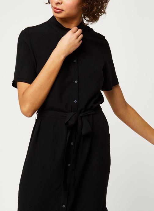 Vêtements Pieces Dresses Pccecilie Ss Long Dress Noos Bc Noir vue droite